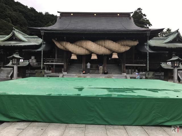 筑紫舞の舞台