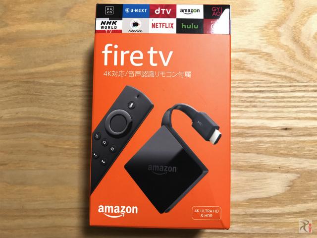 新しいFire TV