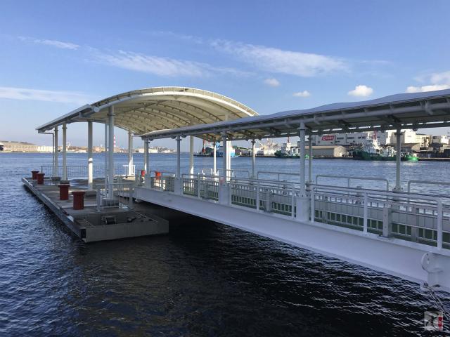 新しい桟橋