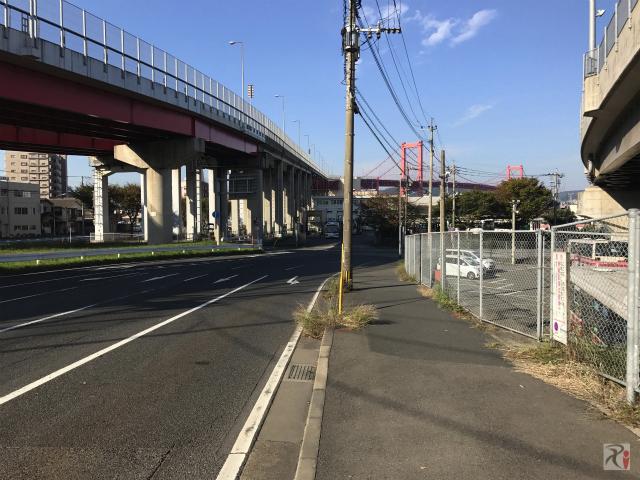 若戸大橋と新若戸道路