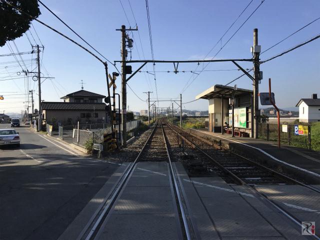 筑豊電鉄感田駅