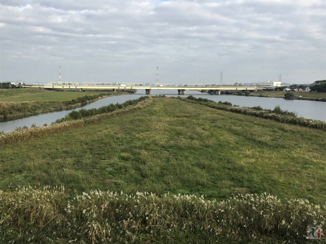遠賀川と犬鳴川