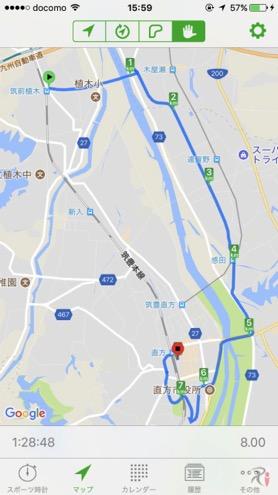 Walk木屋瀬コースマップ