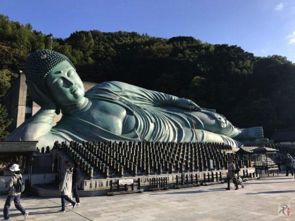 5年半ぶりの南蔵院と寺社巡り、錣山部屋の力士さんと遭遇【Walk篠栗】