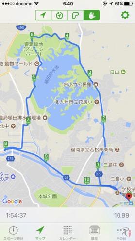 Walk二島コースマップ