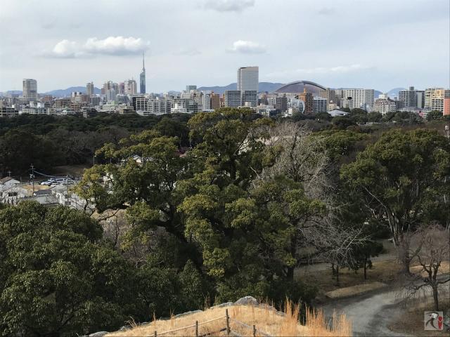 ヤフオクドームと福岡タワー