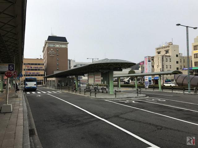 米子駅前バスターミナル