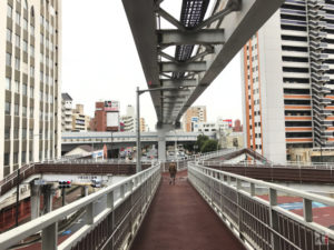 北九州市民球場、メディアドーム、黄金市場など三萩野エリアをぶらり散策