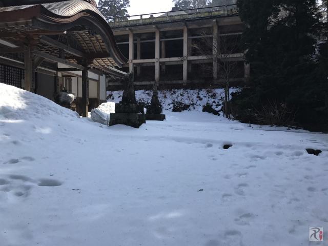 大山寺舞台