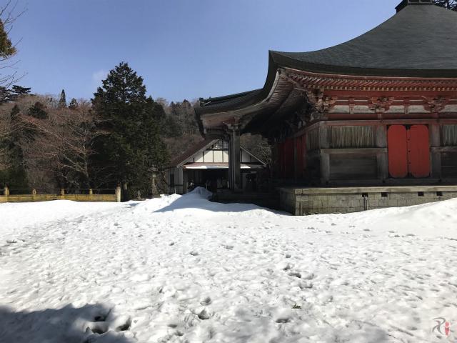 大山寺境内