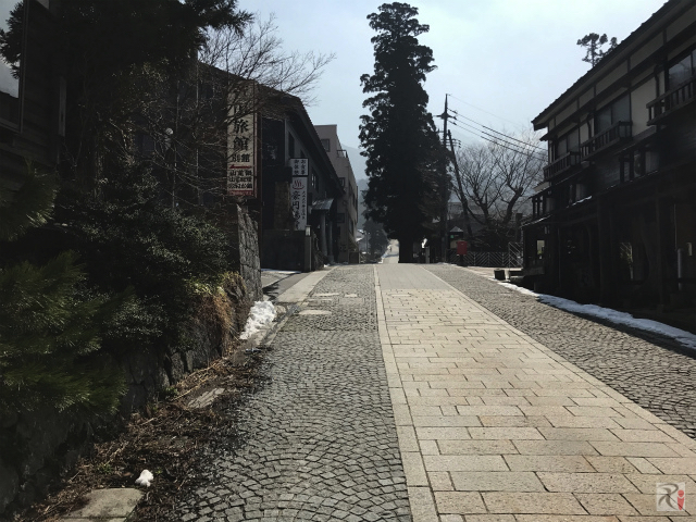 大山寺参道