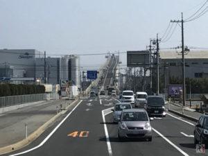 ダイハツCMで有名になったベタ踏み坂(江島大橋)を車で走ってきた