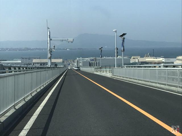 江島大橋下り