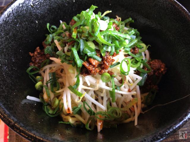 筑豊的担々麺 烏龍 汁なし担々麺