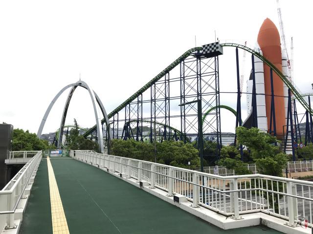 スペースワールド前の歩道橋