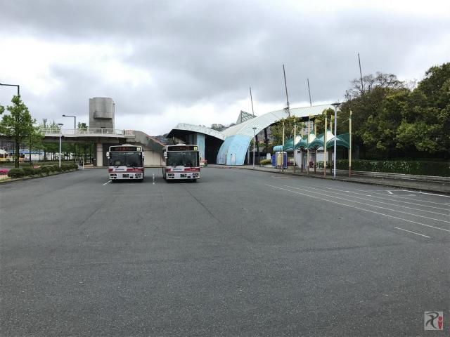 スペースワールド前バス停
