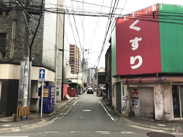 福岡市中央区春吉