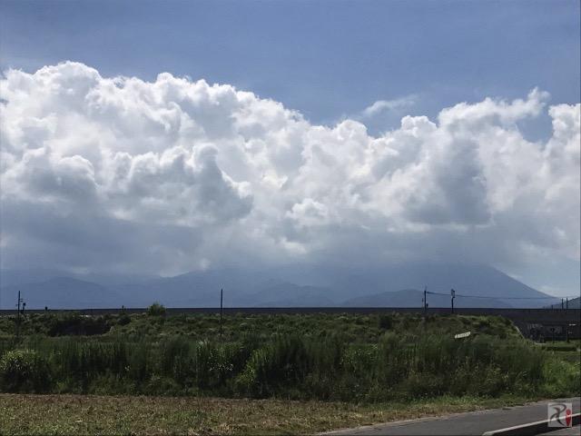 米子市と大山