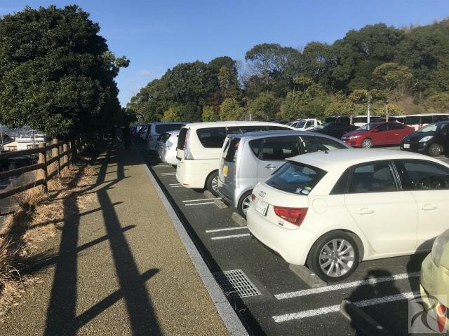 九州国立博物館駐車場