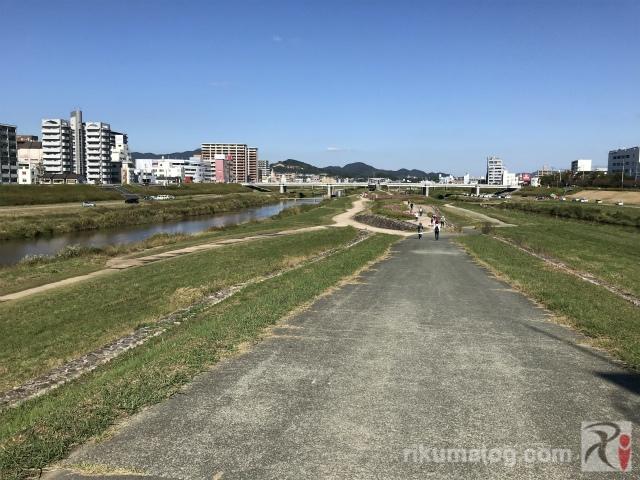 遠賀川中之島