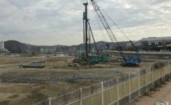 スペースワールド跡地、新たな商業施設工事が始まる(2020年12月)