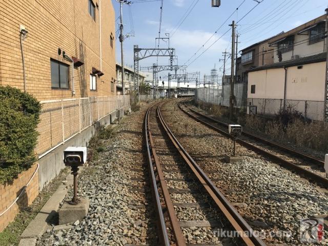 JR福北ゆたか線の線路