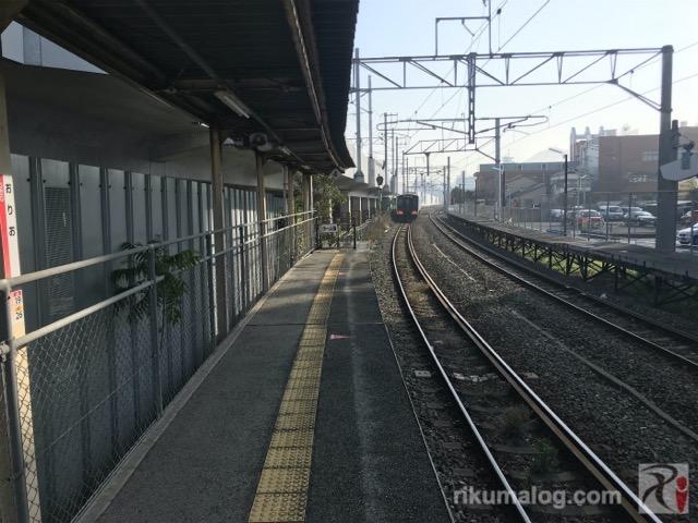 折尾駅鷹見口