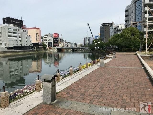那珂川の河川敷