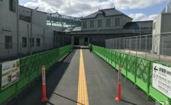 新生・折尾駅を初訪問!周辺の工事は継続中(2021年2月)