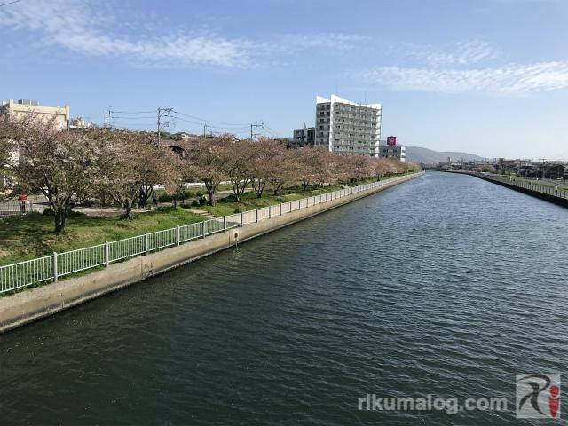 須原橋からの眺め・北東側