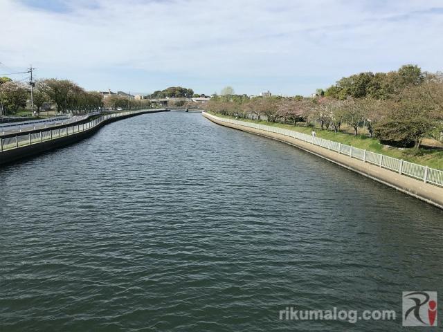須原橋からの眺め・南西側
