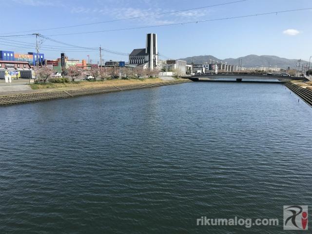 本陣橋からの景色