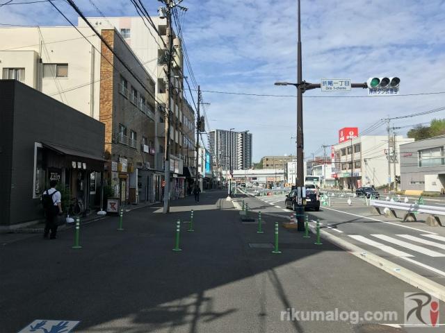 折尾駅付近