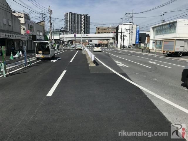 福岡ひびき信用金庫折尾支店付近