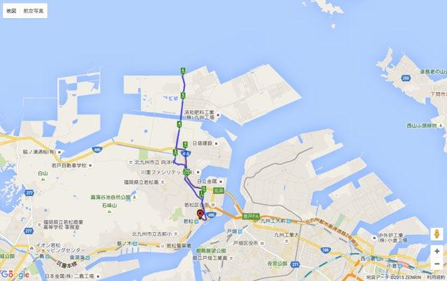 Walk若松コースマップ